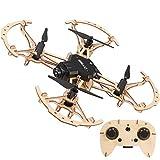 HZYYZH Drone en Bois de Bricolage, Avion 4 Axes Auto-assemblé, Avion télécommandé Haute définition, Machine à enseigner Les modèles d'avion