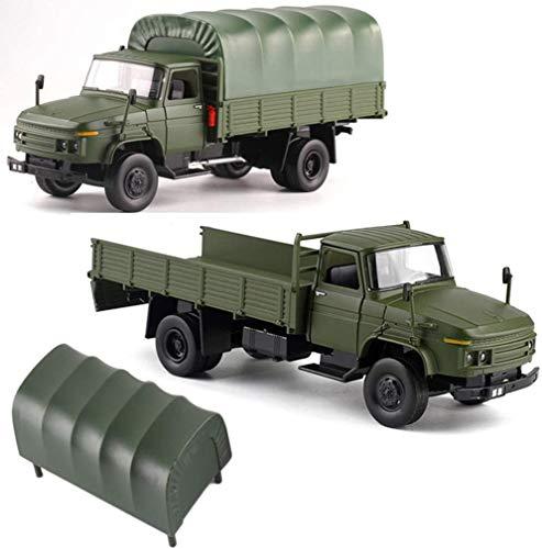 Legertransport Speelgoed Legering Auto, 1:32 Actie Speelgoed Militair pak Model Ornamenten met Leuke Verlichting en Geluiden, Speelgoed Cadeau voor Jongens Meisjes Volwassenen