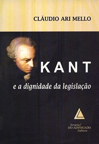 Kant E A Dignidade Da Legislação