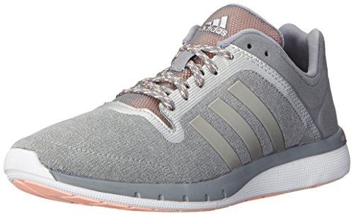 adidas Performance Women's CC Cross Country Fresh 2 W Running Shoe, Grey/Metallic/Silver/Light...