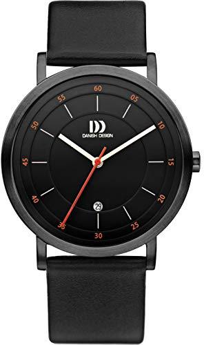 Danish Design Unisex Erwachsene Analog Quarz Uhr mit Leder Armband DZ120729