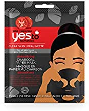 Yes to Tomatoes Clear Skin Detoxifying Charcoal Paper Mask (Pack of 6)