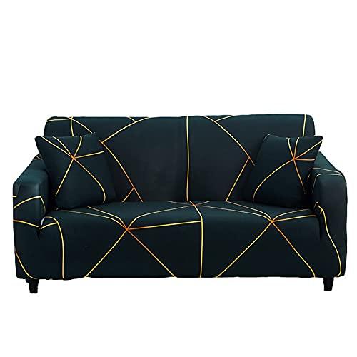 WXQY Funda de sofá elástica Funda de sofá de Sala de Estar Funda de sofá elástica seccional Funda de sillón en Forma de L Funda de sofá A15 4 plazas