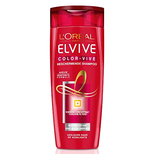 L'Oréal Paris Elvive Color-Vive 50ml Mujeres Champú - Champues (Mujeres, Champú, Cabello teñido, 50 ml, 21,5 mm, 48,5 mm)