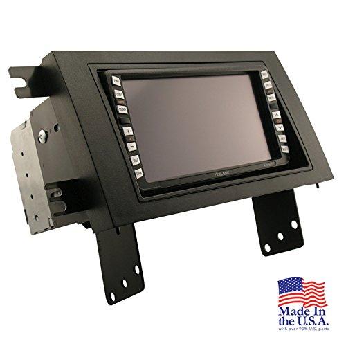 Scosche HA1579B Compatible with 2006-15 Honda Ridgeline ISO Double DIN Dash Kit Black