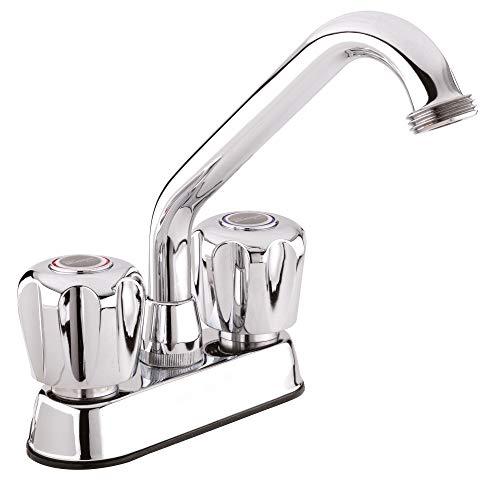 Plumb Pak 3040W Dual Handle Laundry Tub Faucet