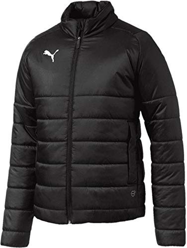 PUMA Jacke Liga Casuals Padded Jacket, Puma Black-Puma White, M, 655301