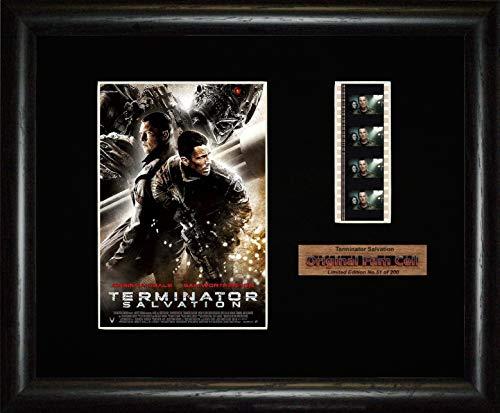 Terminator-Die Erlösung-mit Stück der Filmrolle