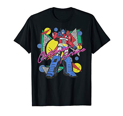 Transformers Retro Optimus Prime T-Shirt