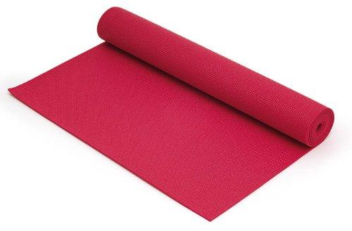 Yoga Matte Gymnastikmatte fuchsia