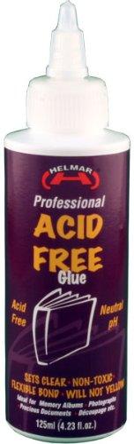 Helmar 125 ml Zuurvrij Neutraal pH Lijm, Helder