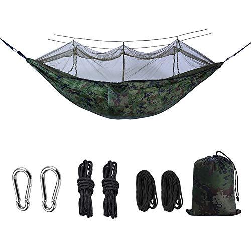 Coomir Draagbare hangmat met muggennet, duurzaam, voor outdoor, camping, strand en reis