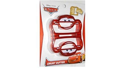 Cars Rayo McQueen Disney Sandwich decruster corteza cortador escuela almuerzo fácil Fun
