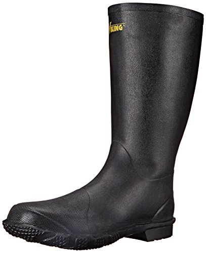 Viking Footwear Handyman Rubber Waterproof Boot, Black, 10 M US