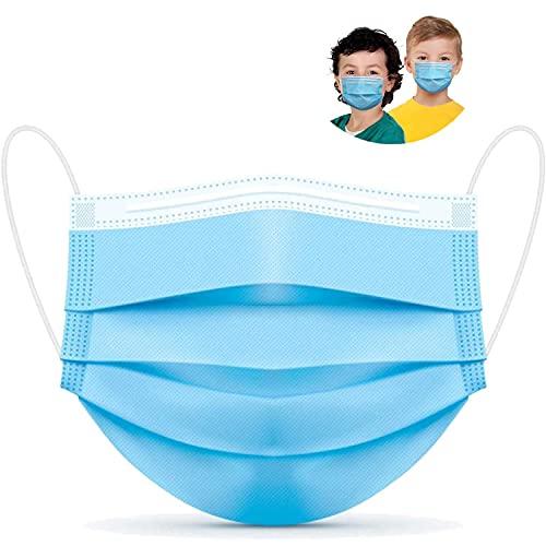 Parama 50 Stück Op Masken für Kinder Made in Italy CE Zertifiziert EN14683 Type II BFE ≥ 99% Medizinischer Mundschutz Einwegmasken Kinder Mund Nasen Schutz