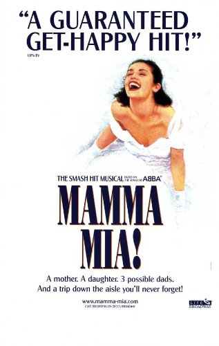 Mamma Mia Poster Broadway Theater Play 11x17 MasterPoster Print, 11x17