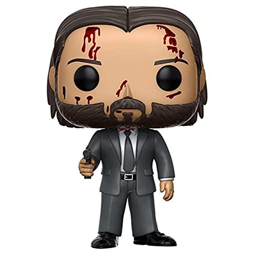 Funko Pop Movies: John Wick Chapter 2 - Bloody Limited Chase with Pop Original Box Chibi