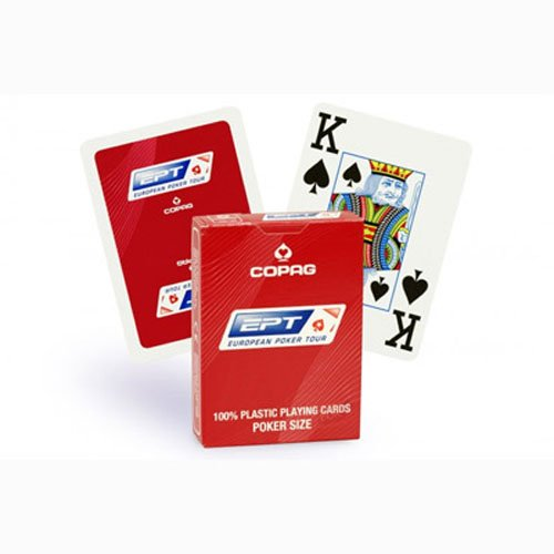 Carte Copag EPT-European Poker Tour 100% plastica