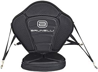 Brunelli EXTRA Dicker Kajak-Sitz für SUP Board Stand Up Paddle SUP ISUP mit Tasche
