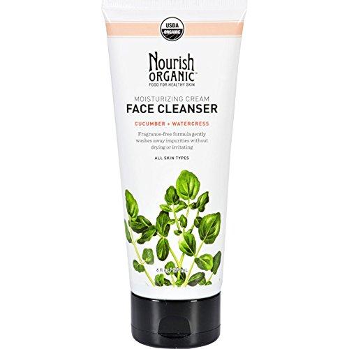 Nourish Organic Moisturizing Cream Face Cleanser