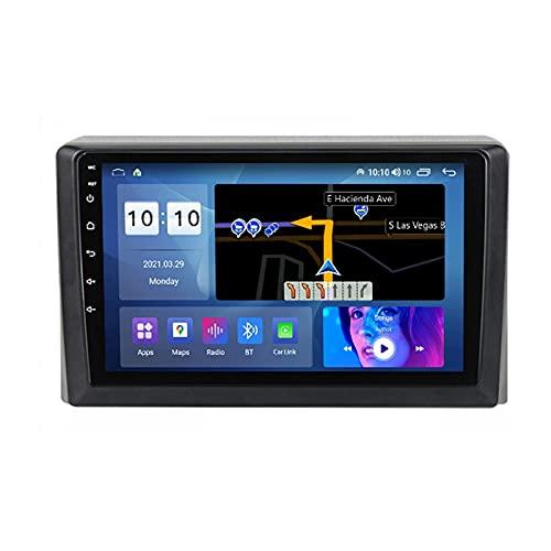 Android 10.0 coche Radio Stéreo Para T-oyota Hiace 2013-2018 Multimedia Player FM Reproductor GPS Navegación IPS Pantalla Táctil Soporte 4G Wifi SWC Carplay Bluetooth DSP,4 Core WiFi: 2+32GB