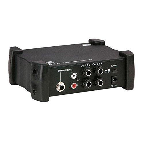 DAP AMP-104 Kopfhörer-Vorverstärker mit 4 Kanälen