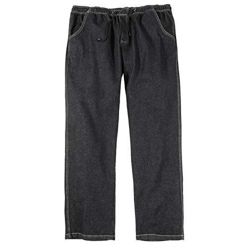 Abraxas Jeans-Hose mit Gummibund Übergröße schwarz, XL Größe:8XL