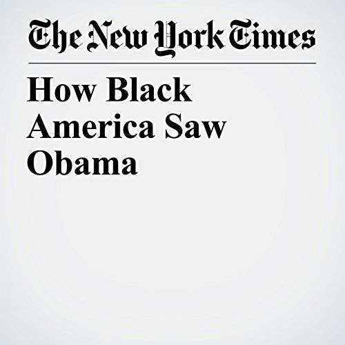 How Black America Saw Obama audiobook cover art