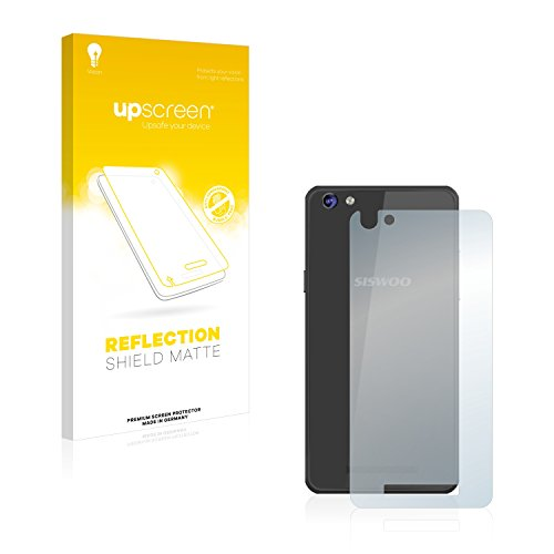upscreen Entspiegelungs-Schutzfolie kompatibel mit Siswoo C50 Longbow (Rückseite) – Anti-Reflex Bildschirmschutz-Folie Matt