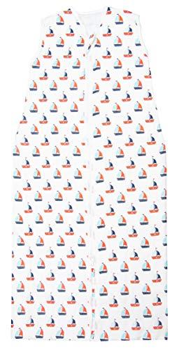 ZOLLNER Sommerschlafsack aus Baumwolle, Größe 90 (weitere verfügbar)
