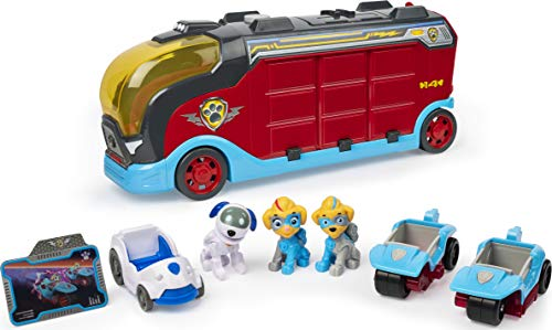 PAW Patrol Mighty Pups Super Paws Mighty Cruiser mit 3 Fahrzeugen