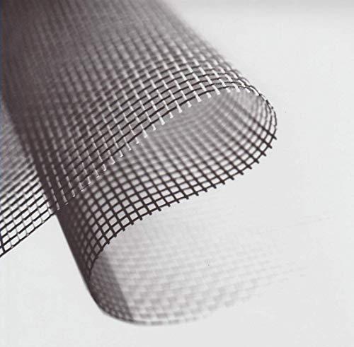 Rete Zanzariera Alluminio Rotolo 30 mt maglia 18x14 di Ottima Qualità Per realizzazione Zanzariere a Telaio Fisso (ALLUMINIO maglia 18x14, H: 80 cm x 30 mt)