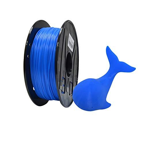 YANGDONG Blauer PLA-Kabel, 1kg 3D-Drucker-Lichtdraht, 1,75 Mm +/- 0,02 Mm, Für FMD-3D-Drucker- Und Druckstift, Verlustmaterial