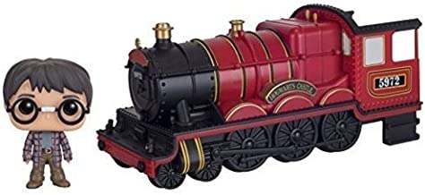 Funko pop Harry Potter 5972 Hogwarts Express Engine Figure - Red/Black