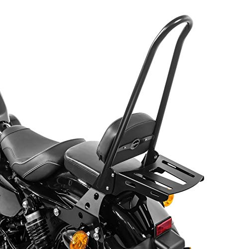 Sissy Bar Detachable + Luggage Rack CSXL for Harley Sportster 1200 Iron 18-20 bl
