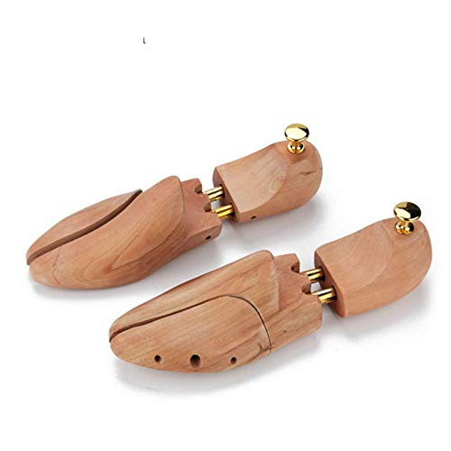 qazxsw Zapatos de Soporte para Zapatos, Soporte de Zapatos de Madera Maciza para Hombres y Mujeres Estereotipos de expansor de Zapatos Desodorante Antiarrugas Ajustable