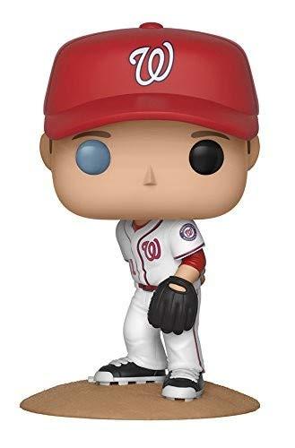 Funko–Major League Baseball Figure Max Scherzer Statue Sammelbar New York Toy Fair, 9cm, 30243