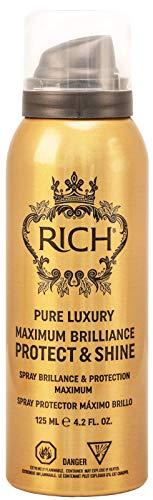 RICH Hitzeschutzspray Maximum Brilliance & Shine mit Jojobaöl, Mandelöl und Olivenöl