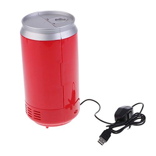 Nevera USB Pequeña Calentador Universal Refrigerador 5V ...