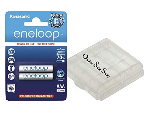 Panasonic eneloop AAA batterijen Micro snel opladen zonder geheugeneffect voor draadloze telefoons Siemens Gigaset A420A E370HX E630HX E370 E630 + OSS accubox