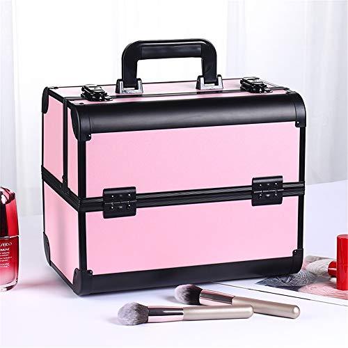 SCOC Maleta para Maquillaje, Aleación de Aluminio Profesional del salón de Belleza...