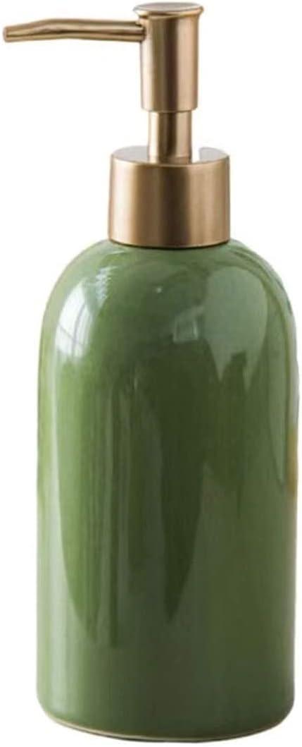 JJDSN Soap Dispenser, Simple soap Dispenser, refillable Ceramic