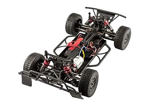 RC Auto kaufen Short Course Truck Bild 6: LC-Racing Mini Brushed Off-Road Short Curse Truck 1:14 RTR EMB-SCL | das perfekte Fahrzeug zum Einstieg in den RC-Car Sport | Brushed Antrieb | ca. 30 Km/h schnell | 4-Rad Antrieb | komplett Kugelgelagert | Öldruckstoßdämpfer einstellbar | Aluminium Kardanwelle | gekapselter Antrieb | Carbon Tuningteile erhältlich | Schnellladegerät und Fahrakku inklusive | diverse Umbaumöglichkeiten | viele Tuningteile erhältlich | Umbau auf Brushless möglich | sehr stabil durch Nylonkunststoff*
