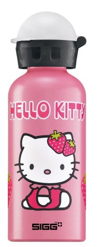 Sigg Trinkflasche Hello Kitty, pink metallic, 0.4 l