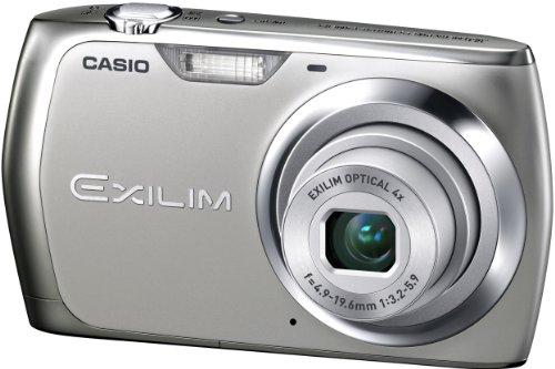 Casio Exilim EX-Z350 Digitalkamera (12 Megapixel, 4-fach opt. Zoom, 6,85 cm (2,7 Zoll) Display, bildstabilisiert) silber