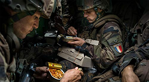 RCIR French Armed Forces [24 hr combat ration] pack MRE ARMY MEAL Emergency Set Food MILITARY Authentic 1
