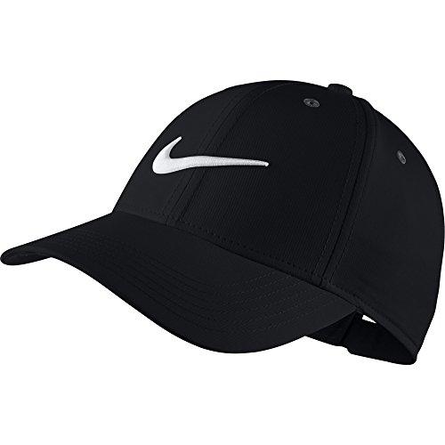 Nike Kinder Verstellbare Kappe, Black/Anthracite/(White), One Size