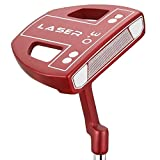 Ram Golf Laser No.3 White Ball Putter - Right Hand - Headcover Included - 34'
