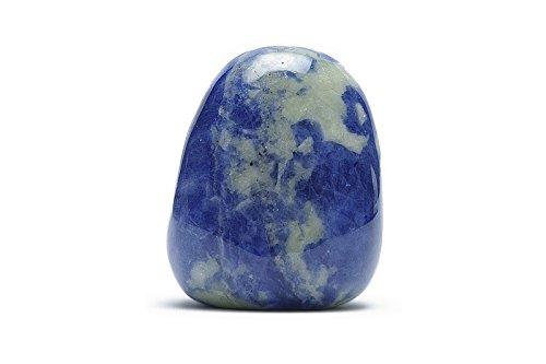 Sodalite minerali pietra naturale per litoterapia.–Pietra roulée