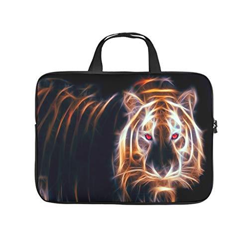Trippy Lion Laptop Bag Waterproof Laptop Briefcase Pattern Notebook Bag for University Work Business